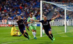 Ada Hegerberg et Eugénie Le Sommer sont venues à bout de Wolfsburg lors de la prolongation de la dernière finale de la Ligue des champions, en mai 2018 à Kiev.