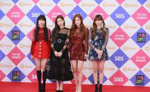 Le groupe de K-Pop BLACKPINK