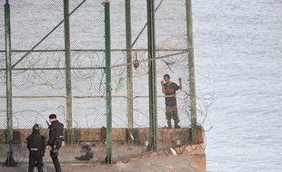 La frontière du Ceuta, illustration