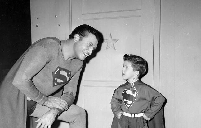 George Reeves dans Lucy and Superman.