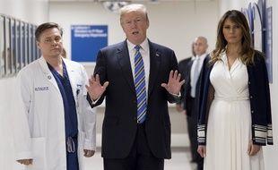 Donald Trump le 16 février 2018.