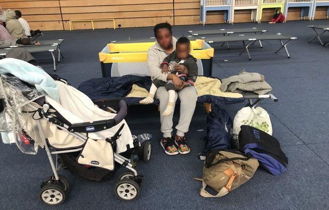 Juliett a fui le Nigeria puis l'Italie et espère une meilleure situation pour son fils Moses, âgé d'un an et demi.