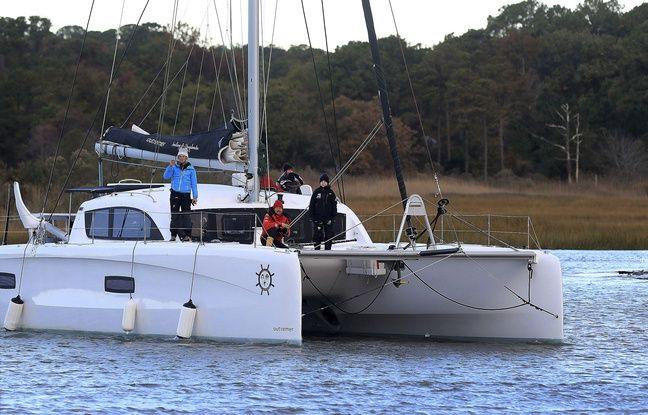 Greta Thunberg, sur le voilier qui va lui permettre de traverser l'Atlantique