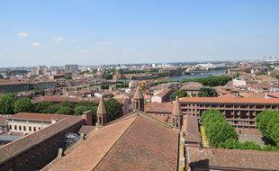 Une vue de Toulouse.