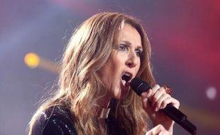 La chanteuse Céline Dion, le 21 novembre 2013 à Anvers (Belgique).