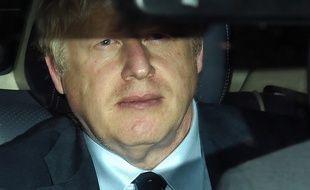 Boris Johnson après le débat sur le no-deal, le 3 septembre 2019.
