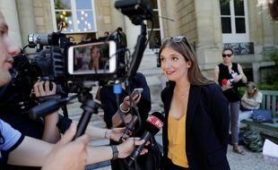 Aurore Berge , députée LREM le 19 juin 2017 à l'Assemblée. AFP PHOTO / Thomas Samson