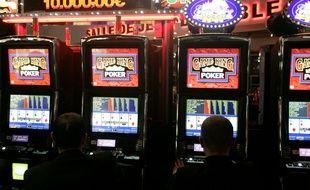 Illustration dans un casino.
