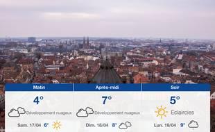 Météo Strasbourg: Prévisions du vendredi 16 avril 2021