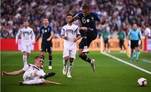 Mbappé, contre l'Allemagne