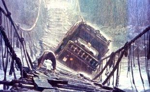 Une scène du film «Sorcerer» («Le convoi de la peur») de William Friedkin.