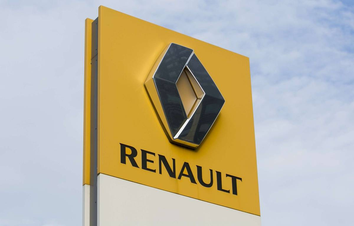 Illustration du logo du groupe automobile français Renault. – SIPANY/SIPA
