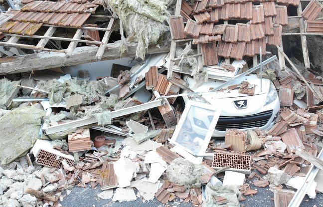 Deux personnes ont été sorties des décombres, dans la maison qui s'est effondrée à Poussan