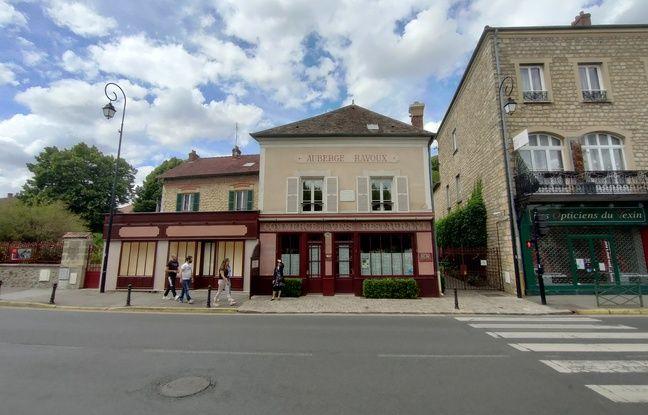 L'auberge Ravoux d'Auvers-sur-Oise en ultra grand-angle.
