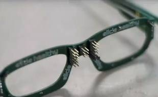La start-up Ellcie Healthy a développé des lunettes connectées qui permettent d'alerter un conducteur qui s'endort au volant.