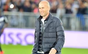 Zinédine Zidane, le 23 mai 2015, à Bordeaux.