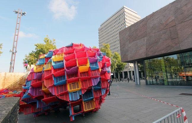 VIDEO. Rennes: Les Champs Libres perdent leur oeuvre d'art