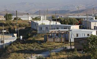 La colonie illégale d'Amona, installée en Cisjordanie, près de Ramallah.
