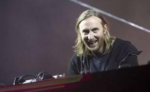 David Guetta en concert à Berlin le 8 septembre 2013