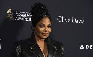 La chanteuse Janet Jackson.