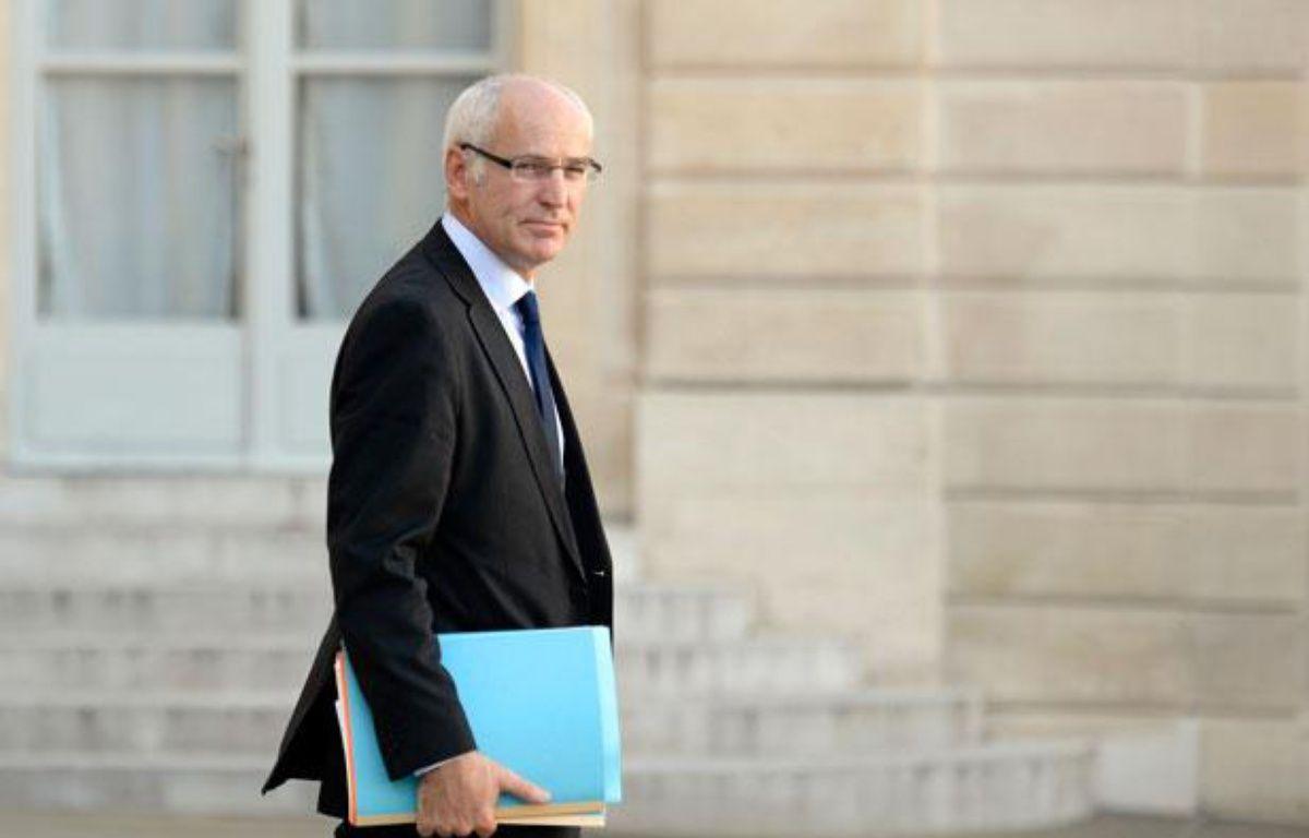 Le ministre délégué en charge des Affaires européennes, Thierry Repentin, le 23 octobre 2013 – MARTIN BUREAU / AFP