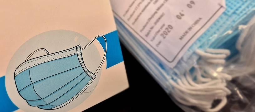 Des masques seront distribués gratuitement dans les transports lillois (illustration).