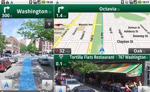 Google Maps Navigation, disponible sur les téléphones sous Android 2.0