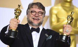 Guillermo del Toro a remporté l'oscar du meilleur réalisateur et celui du meilleur film pour «La Forme de l'eau», le 4 mars 2018.