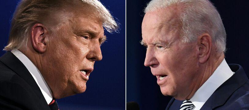Donald Trump et Joe Biden, le 29 septembre 2020 lors du débat pour la présidentielle 2020.