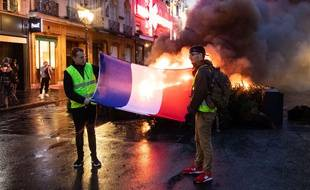La mobilisation des «gilets jaunes» a dégénéré sur les Champs-Elysées, le 1er décembre 2018.