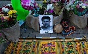 Le mémorial de Mohamed Ali, à Louisville (Kentucky), le 6 juin 2016