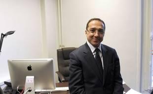 L'ex-conseiller de François Hollande, Faouzi Lamdaoui, le 11 janvier 2012 à Paris.