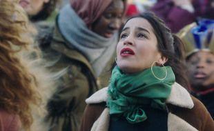 Leïla Bekhti dans le film « La lutte des classes »