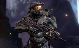 "Master Chief dans ""Halo 4"""