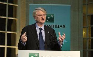 Baudouin Prot, président de BNP Paribas.