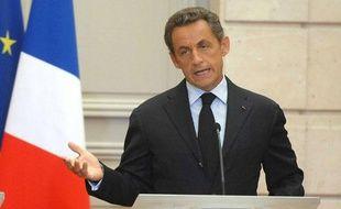 Nicolas Sarkozy souhaite instaurer un taxation sur les transactions financières