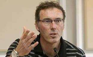 Laurent Blanc, le 29 avril 2011, à Bordeaux.