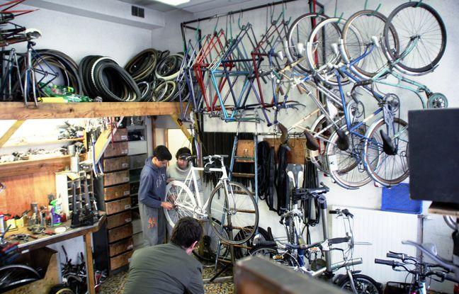 L'ancien atelier de réparation de vélos de La Petite Rennes était trop étroit pour accueillir les adhérents.