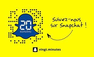 20 Minutes« 20 Minutes » ouvre son compte Snapchat