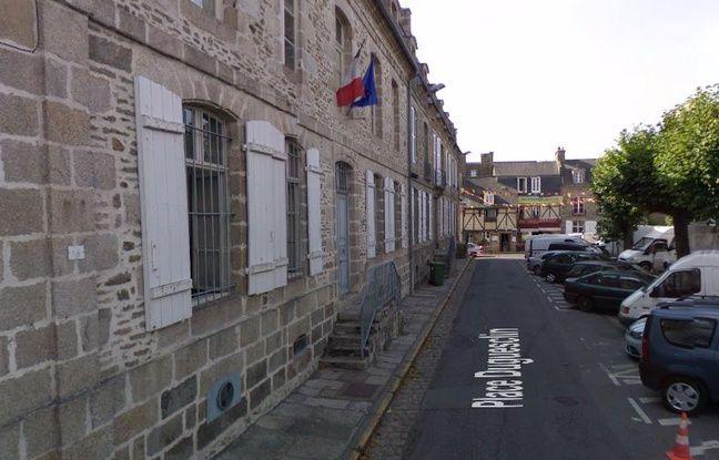 La gendarmerie de Dinan, dans les Côtes d'Armor.