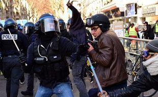 La manifestation du 10 décembre 2019 à Lyon avait été émaillée d'affrontements.