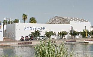 L'Amnesia, au Cap d'Agde.