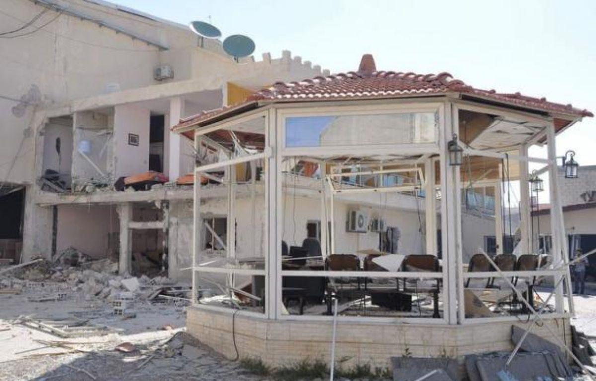 Une télévision officielle a été la cible mercredi d'un attentat sanglant près de Damas, le premier du genre en 15 mois de révolte en Syrie, au centre d'une réunion internationale prévue samedi à Genève. – - afp.com