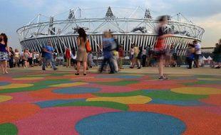Le Stade Olympique de Londres, qui accueillera la cérémonie d'ouverture des JO le 27 juillet 2012.