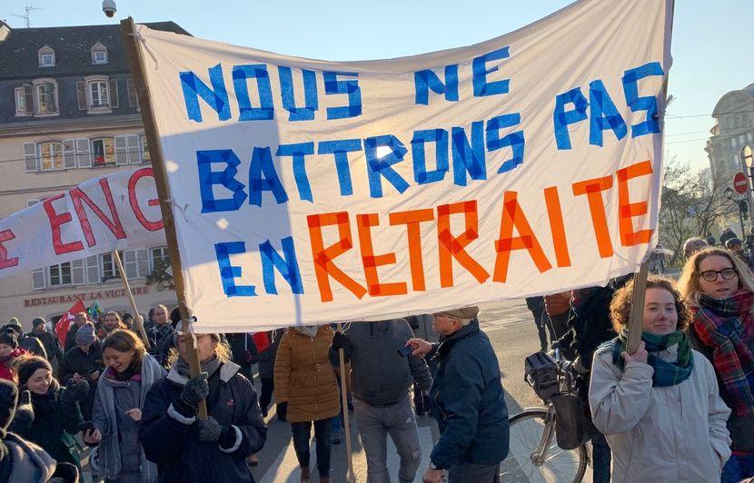Grève du 5 décembre : Deux personnes interpellées après la manifestation à Strasbourg