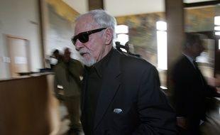 Jacky Imbert en 2006, lors de son procès à Marseille pour extorsion de fonds.