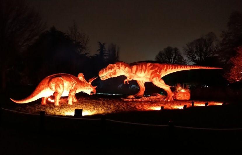 VIDEO. Avec « Prehistoric Safari », les dinosaures envahissent le Jardin d'Acclimatation en nocturne