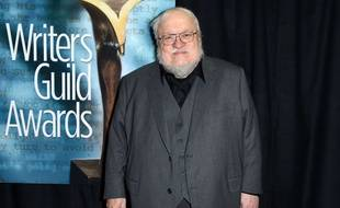 George R.R. Martin, aux Writers Guild Awards, à Los Angeles, le 14 février 2015.