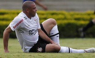 L'attaquant Brésilien Ronaldo, le 5 décembre dernier, sous le maillot des Corinthians.
