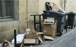 Des habitants de Bordeaux ont peur que les poubelles ne s'accumulent sur les trottoirs.